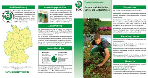 Komposte im Garten- und Landschaftsbau – Umwelt- und Gartenparter Vogel